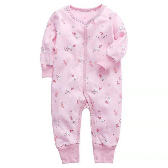 Pinky Baby Girl Jumpsuit