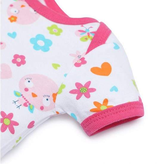 Newborn Baby Girl Clothing Set 7 pcs