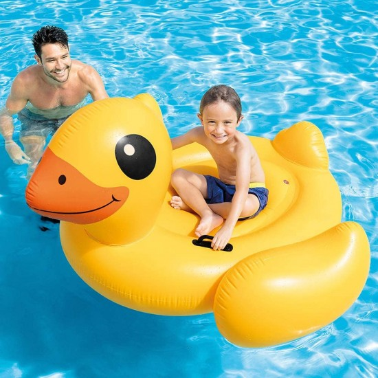 Intex Inflatable Duck Ride-On Pool Float